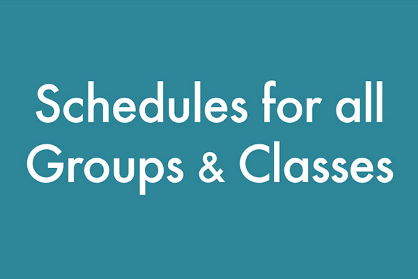 Citrus Valley – Class Schedule